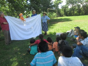 A puppet show by the folks from Hope.
